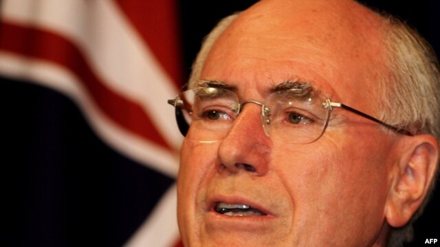 Prime Minister John Howard is the second-longest-serving prime minister in Australian history.