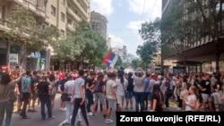 Protest osnovaca u Beogradu