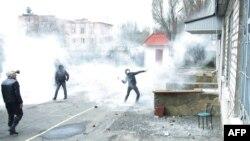 Штурм аддзяленьня міліцыі ў Горлаўцы