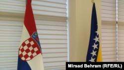 Zastava Hrvatske i BiH
