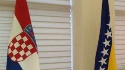 Zastave BiH i Hrvatske