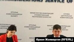 Казакстандын саламаттык сактоо министри Елжан Биртанов Астанадагы жыйында. 4-июнь, 2018-жыл.