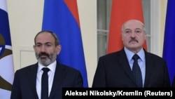N.Paşinyan və A.Lukaşenko