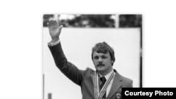 Александр Мелентьев Москва Олимпиадасында. 1980-ж.