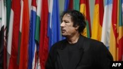 Муаммар Каддафи на сессии Генеральной Ассамблеи ООН. Нью-Йрк, 22 сентября 2009 года.