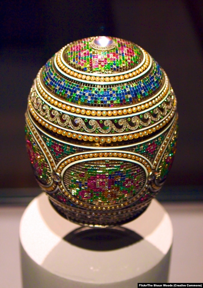 Faberge and his eggs the mosaic egg in russia it is tradition to gift loved ones decorated eggshells negle Gallery