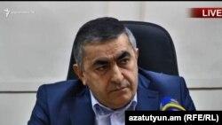 Председатель Бюро АРФД Армен Рустамян, Ереван, 29 января 2019 г.