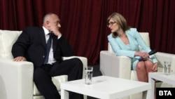 Архивска фотографија- бугарскиот премиер Бојко Борисов и министерката за надворешни работи Екатерина Захариева