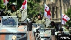 სამხედრო აღლუმი თბილისში. 2010 წლის 26 მაისი