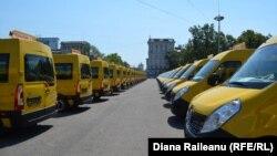 Microbuzele donate de România pentru școlile din R.Moldova