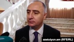 Начальник ССС Сасун Хачатрян (архив)