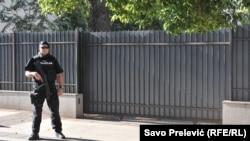 Policija ispred Višeg suda u Podgorici