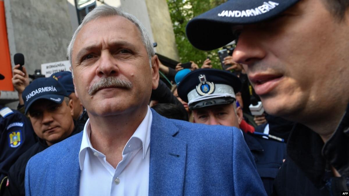 U.S. Slaps Travel Ban On Jailed Romanian Ex-Political Leader Dragnea