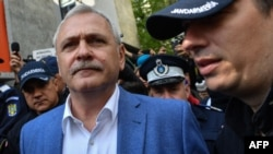 Romania's jailed former Social Democrat Party leader Liviu Dragnea would have benefited from the proposed legislation had it passed. (file photo)