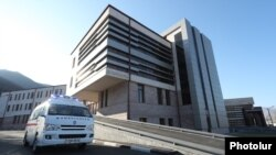Armenia - A newly built hospital in Vanadzor, November 10, 2018.