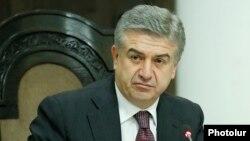 Бывший премьер-министр Армении Карен Карапетян (архив)