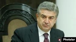 Исполняющий обязанности премьер-министра Армении Карен Карапетян (архив)