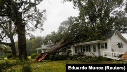 Последствия урагана «Флоренс»
