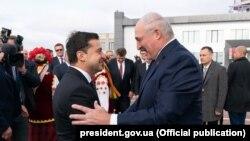 Уладзімір Зяленскі і Аляксандар Лукашэнка