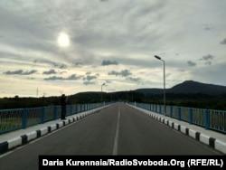 Мост между Грузией и Абхазией, май 2018 года