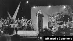 ტუტს თილემანსი სცენაზე. 1961 წელი