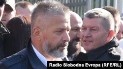 Насер Орич, Босния мұсылмандары армиясының бұрынғы командирі. Сараево, 9 қазан 2017 жыл.