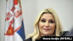 Zëvendëskryeministrja e Serbisë, Zorana Mihajlloviq.