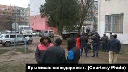 Крим, Красногвардійське, під судом, 18 грудня 2017 року