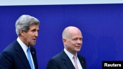 John Kerry və William Hague