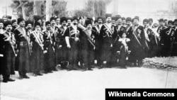 Persian Cossack Brigade in Tabriz