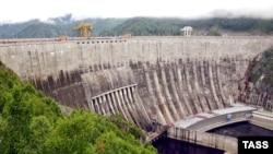 Саяно-Шушенская ГЭС до аварии