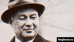 Государственный деятель Узбекистана и известный писатель Шараф Рашидов.