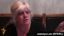 Ирина Казарян, мать погибшего военнослужащего Артура Казаряна