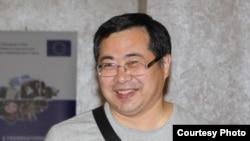Ермек Нарымбаев, гражданский активист. Алматы, 3 августа 2015 года.