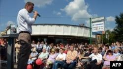 Алексей Навальный на предвыборном митинге
