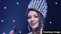 مهرناز عدلی، برنده مسابقه ملکه زیبایی ایران در کانادا