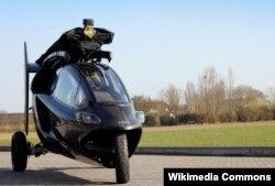 پالیوی؛ یک خودروی پرنده در هلند