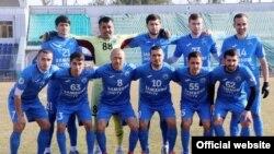 """Команда """"Худжанд"""", фото с сайта Федерации футбола Таджикистана"""
