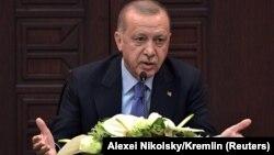 Presidenti i Turqisë, Reccep Tayyip Erdogan.