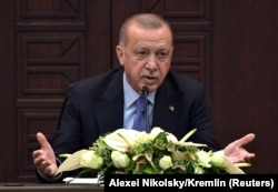 Președintele Turciei Recep Tayyip Erdogan