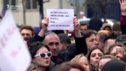 Protesti u Prištini zbog optužbe za silovanje