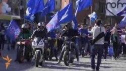 პროფკავშირებმა ასობით ადამიანი გამოიყვანეს ქუჩაში
