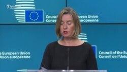 Federica Mogherini și Rex Tillerson despre acordul nuclear iranian