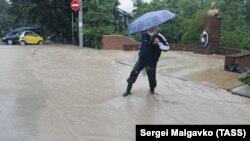 Потоп в Ялте, июнь 2021 года