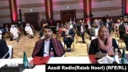 اعضای هیئت مذاکره کننده حکومت افغانستان در دوحه