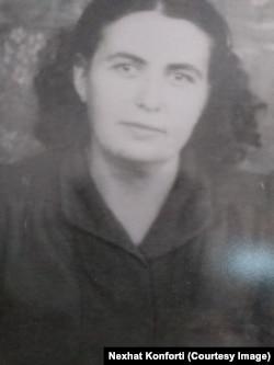 Safina Konforti, nëna e Nexhat Konfortit.