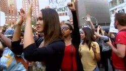 Mbështetje në New York për protestuesit në Missouri