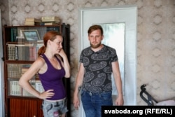 Аляксандар Дарафееў з жонкай Тацянай