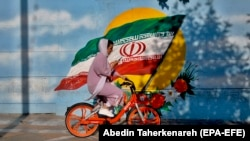 په ایران کې د ښځو بایسکل چلول