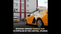Un serviciu rusesc de taxi devine suspect în Lituania